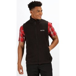Clothing Men Jackets / Cardigans Regatta Tobias II Lightweight Fleece Gilet Black Black