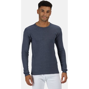 Clothing Men Jumpers Professional THERMAL Long sleeve Vest Base Layer Blue
