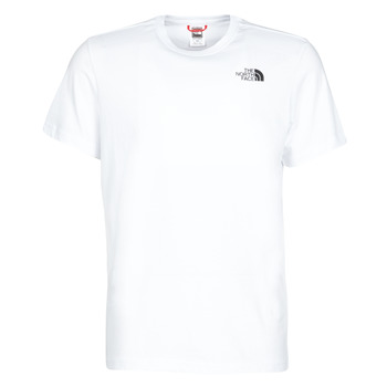 Clothing Men short-sleeved t-shirts The North Face S/S REDBOX White