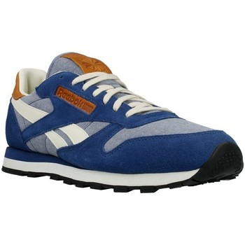 Shoes Men Low top trainers Reebok Sport CL Leather CH Grey,Navy blue,Cream