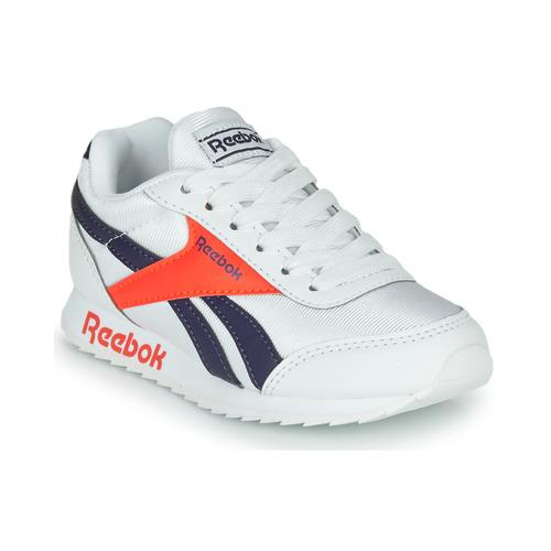 Shoes Children Low top trainers Reebok Classic REEBOK ROYAL CLJOG Grey / Blue