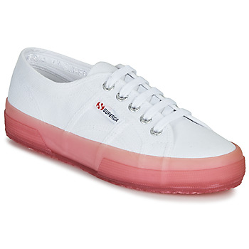 Shoes Women Low top trainers Superga 2750-JELLYGUM COTU White