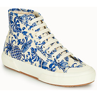 Shoes Women Hi top trainers Superga 2295-COTFANW Beige / Blue
