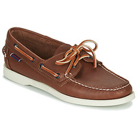 Shoes Women Boat shoes Sebago DOCKSIDES PORTLAND CRAZY H W Brown