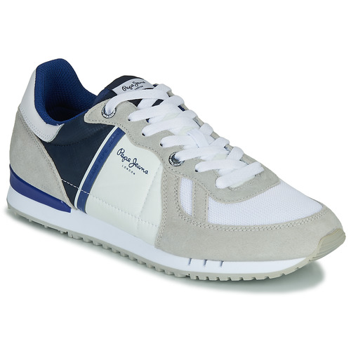 Shoes Men Low top trainers Pepe jeans TINKER  ZERO White