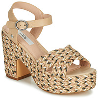 Shoes Women Sandals Pepe jeans BLEAN Beige