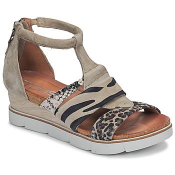 Shoes Women Sandals Mjus TAPASITA Taupe / Leopard