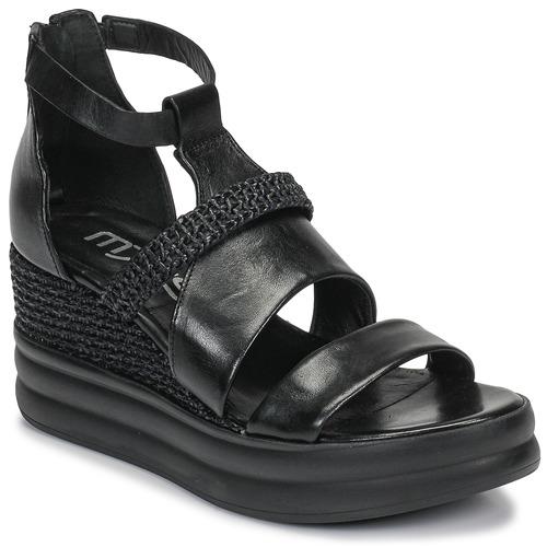 Shoes Women Sandals Mjus BELLANERA Black