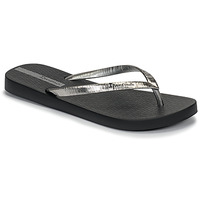 Shoes Women Flip flops Ipanema GLAM II Black / Silver