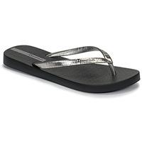 Shoes Women Flip flops Ipanema GLAM II Black / Silver