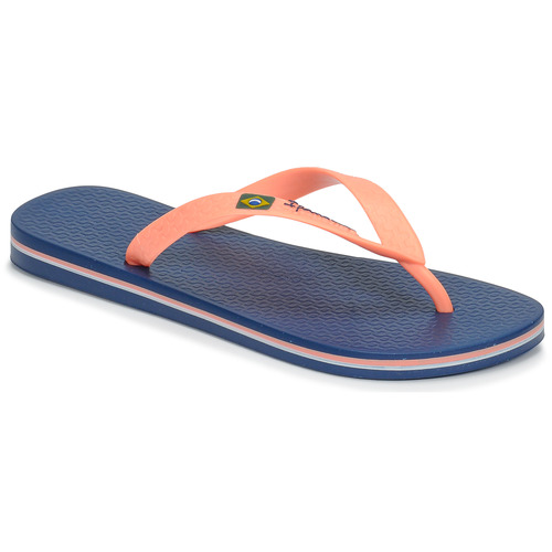 Shoes Women Flip flops Ipanema CLAS BRASIL II Blue / Orange