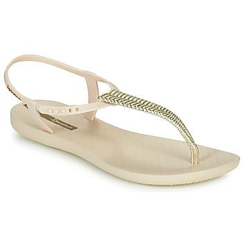 Shoes Women Sandals Ipanema CLASS GLAM III Beige / Gold