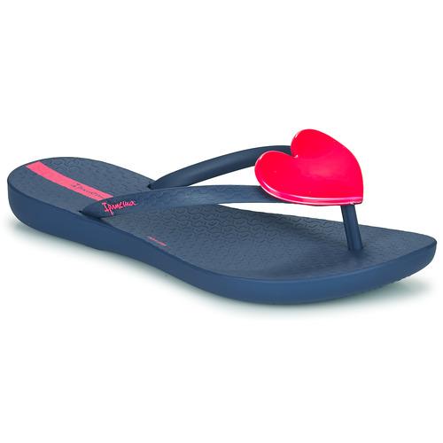 Shoes Girl Flip flops Ipanema MAXI FASHION Blue / Pink