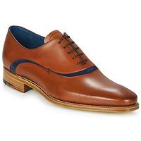 Shoes Men Brogues Barker EMERSON Brown / Blue
