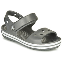 Shoes Children Outdoor sandals Crocs CROCBAND SANDAL KIDS  black / White