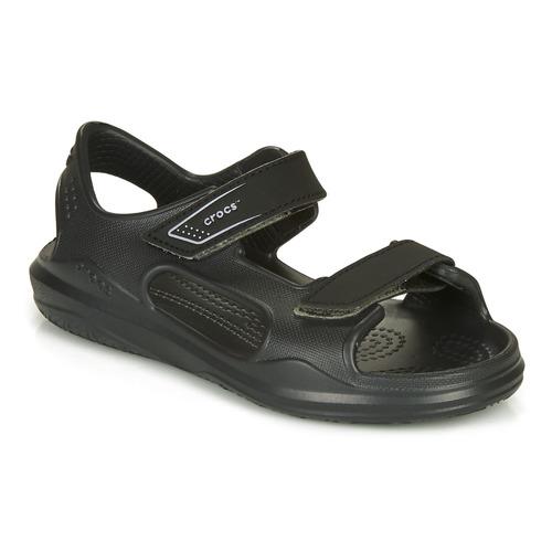 Shoes Children Sandals Crocs SWIFTWATER EXPEDITION SANDAL  black