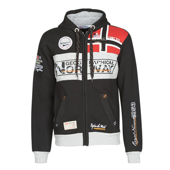 Clothing Men Sweaters Geographical Norway FLYER Black