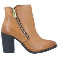Shoes Women Ankle boots Azarey Azarey 465C920 Botines Casual con Tacón de Mujer brown