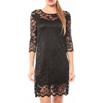 Clothing Women Short Dresses Dress Code Robe In Vogue Noir Black