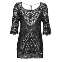 Clothing Women Short Dresses Banana Moon MAGBY DREAMLAND Black