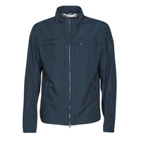Clothing Men Jackets Geox RENNY BIKER JACKET Marine