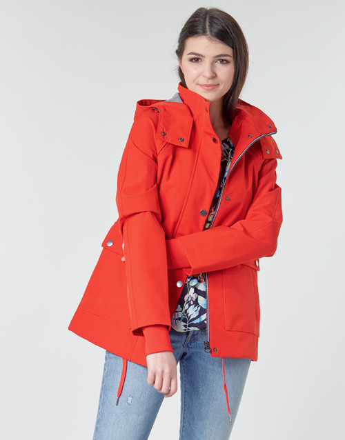 Clothing Women Parkas S.Oliver GORROMITE Red