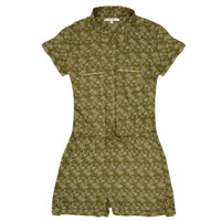 Clothing Girl Jumpsuits / Dungarees Deeluxe AMEDINE Green