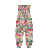 Clothing Girl Jumpsuits / Dungarees Desigual MELON Multicolour