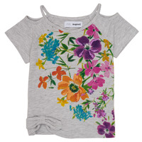 Clothing Girl Short-sleeved t-shirts Desigual EDIMBURGO Multicolour