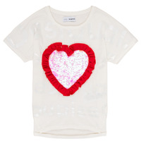 Clothing Girl short-sleeved t-shirts Desigual NORTHAMPTON White
