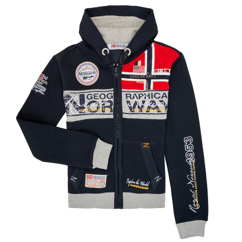 Clothing Boy sweaters Geographical Norway FLYER Marine