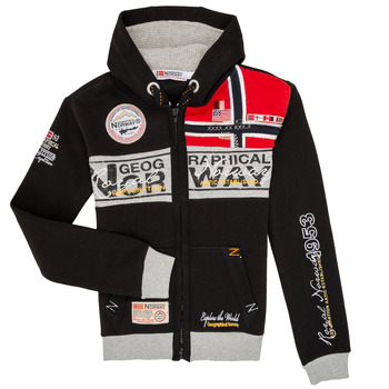 Clothing Boy Sweaters Geographical Norway FLYER Black