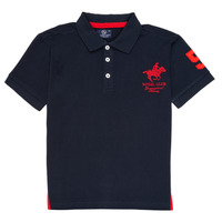 Clothing Boy Short-sleeved polo shirts Geographical Norway KAMPAI Marine