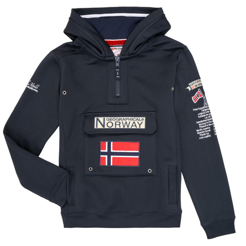 Clothing Boy Sweaters Geographical Norway GYMCLASS Marine