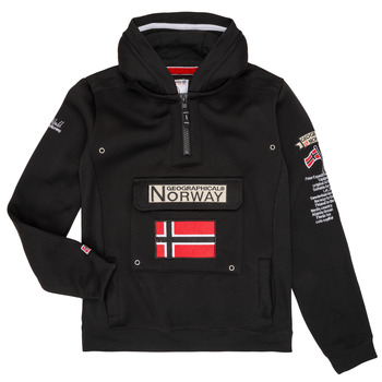 Clothing Boy Sweaters Geographical Norway GYMCLASS Black