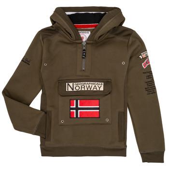 Clothing Boy sweaters Geographical Norway GYMCLASS Kaki