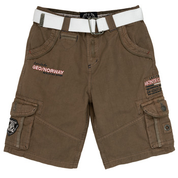 Clothing Boy Shorts / Bermudas Geographical Norway POUDRE Grey