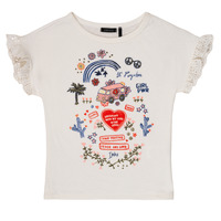 Clothing Girl short-sleeved t-shirts Ikks DORELLA White