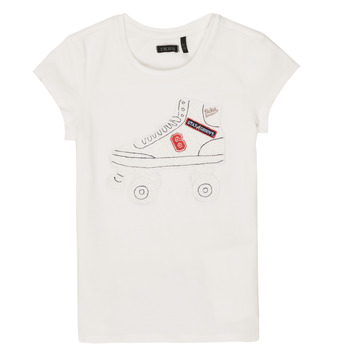 Clothing Girl short-sleeved t-shirts Ikks NADANA White