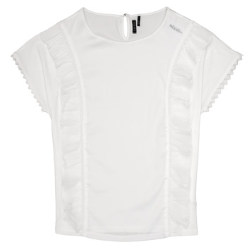 Clothing Girl Tops / Blouses Ikks CLARA White