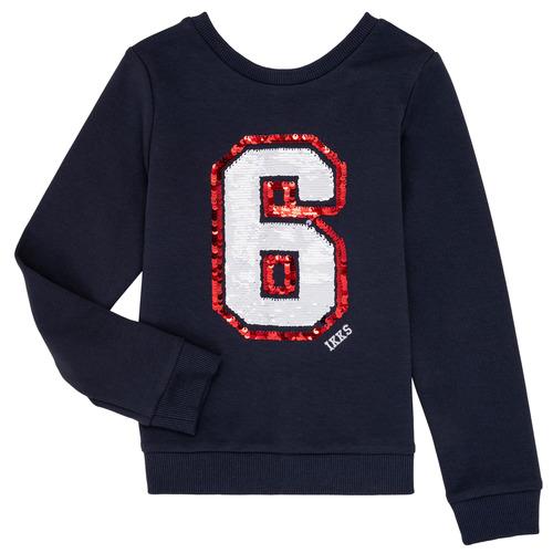 Clothing Girl Sweaters Ikks NABIL Marine