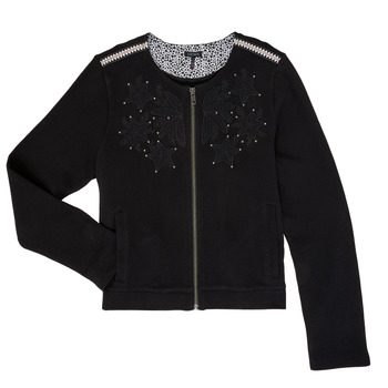 Clothing Girl Jackets / Cardigans Ikks LOUKAS Black