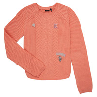Clothing Girl jumpers Ikks LUCHENZO Orange