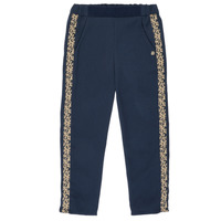 Clothing Girl Wide leg / Harem trousers Ikks NATHAN Marine