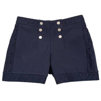 Clothing Girl Shorts / Bermudas Ikks SOLISSO Marine