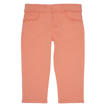 Clothing Girl 5-pocket trousers Ikks CARLOTTA Orange