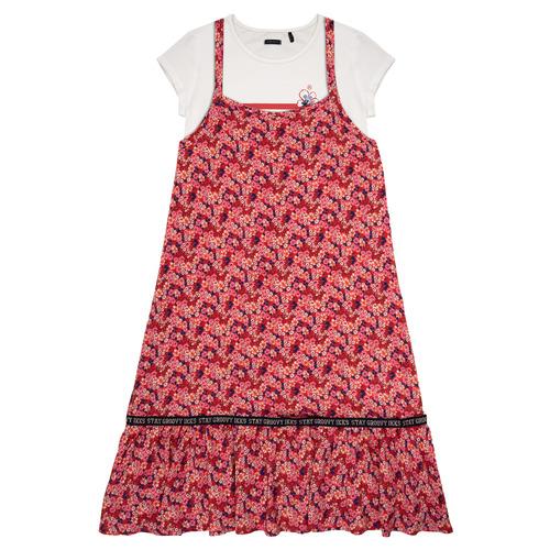 Clothing Girl Short Dresses Ikks DANIA Multicolour