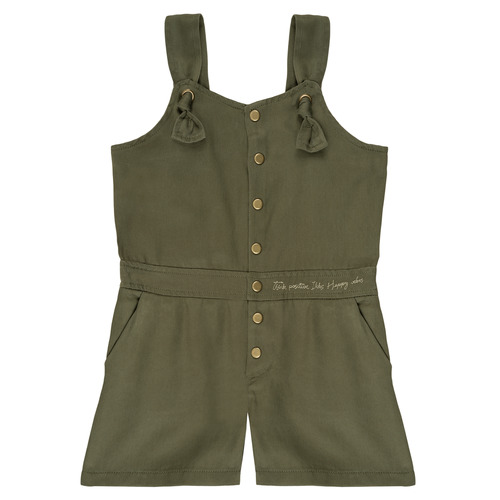 Clothing Girl Jumpsuits / Dungarees Ikks LUC Kaki