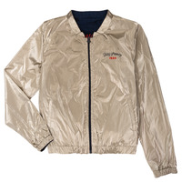 Clothing Girl Jackets Ikks BEATRICE Marine / Gold