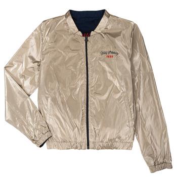 Clothing Girl Jackets Ikks BEATRICE Marine / Gold
